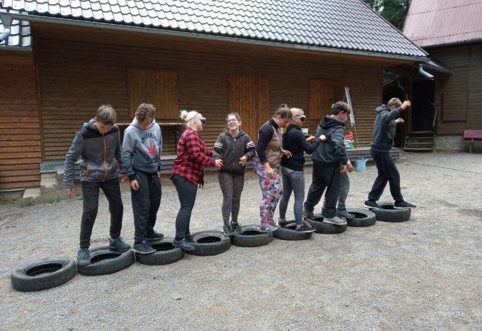 Adaptační kurz na Budislavi – 8. ročník